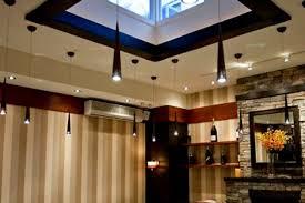 contemporary restaurant interior lighting design glass house