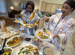 refugees in fort worth learn about thanksgiving traditions fort