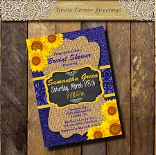 Sunflower Wedding Invitations Printable Sunflower Wedding Invitation Sunflower Wedding Invites