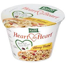 kashi heart to heart honey toasted oat cereal 12 1 4 oz cups