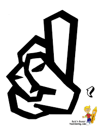 printable sign language alphabet graffiti free asl