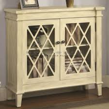 accent cabinet with glass doors display books and decorative objects with this small scale coaster