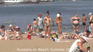 russians on beach summer 2013 vlog russian in russia p5 youtube