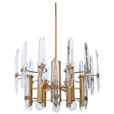 Brass Chandelier Sciolari Crystal And Brass Chandelier Vintage Chandeliers At