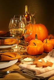 decorations fall color theme thanksgiving table