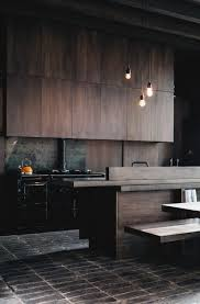 Modern Wooden Kitchen Designs Dark by Best 25 Dark Kitchens Ideas On Pinterest Beautiful Kitchen