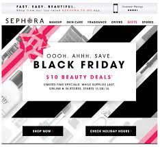 sephora black friday 2017 sale ad cyber week 2017
