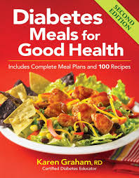 diabetic menus recipes diabetes meals for health includes complete meal plans and