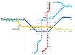 La Metro Map Pdf by Tehran Metro U2014 Map Lines Route Hours Tickets