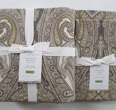 Gray Paisley Duvet Cover Amazon Com Pottery Barn Anton Paisley Duvet Cover King California