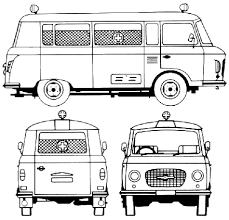 si e auto b auto ifa barkas b 1000 ambulance 1986 bild bild zeigt abbildung