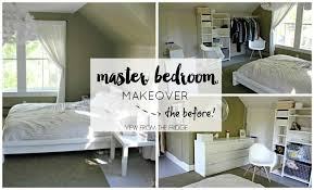 master bedroom makeover master bedroom makeover the before view from the fridgeview from
