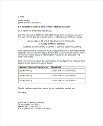 ideas of reference letter for opening bank account sample with