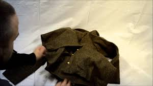 russian wool coat possibly army surplus youtube