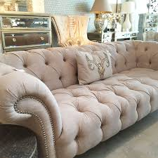 Fabric Chesterfield Sofa Fabric Buttoned Studded 1 8m Chesterfield Sofa F D Interiors Ltd