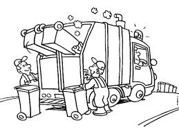 garbage truck coloring pages with regard to residence cool