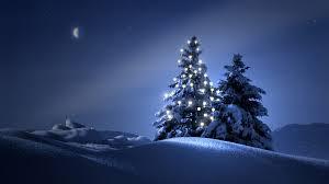 free christmas snow wallpaper widescreen long wallpapers