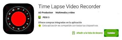 android time lapse app gratis timelapse para móvil android bobi android