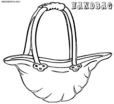 handbag coloring pages coloring pages to download and print