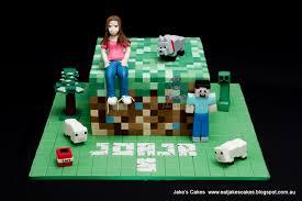 mine craft cakes jake s cakes minecraft cake