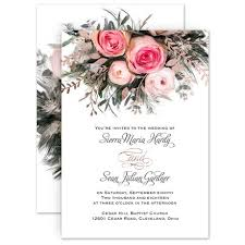 wedding card invitation ethereal garden foil invitation invitations by