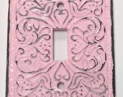 Shabby Chic Switch Plate by Nursery Switch Plate Etsy