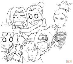 interesting naruto color pages naruto vs sasuke anime coloring for