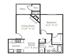 Wisteria Floor Plan The Atrium On James Apartments 6248 S 242nd Place Kent Wa