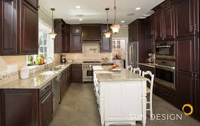 Bi Level Kitchen Designs by Whole House Remodeling Sun Design Remodeling Specialists Inc