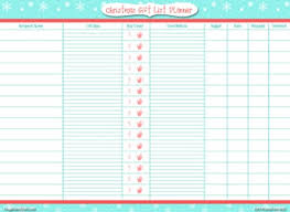 gift list make a gift list day 4 of 31 days to take the stress out of