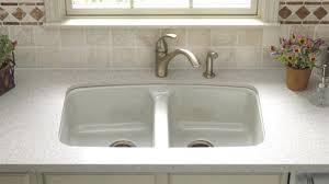 kohler cast iron kitchen sink kohler cast iron undermount kitchen sink s kohler bakersfield single