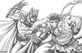 street fighter artist jog ng pencil sketch art gallery karma jello