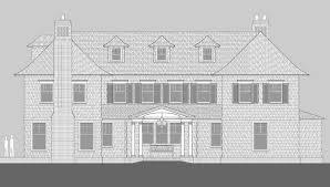 maidstone lane shingle style home plans by david neff architect