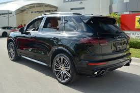 used porsche cayenne turbo s used 2016 porsche cayenne turbo s for sale fort lauderdale fl
