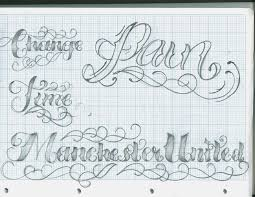 fonts for tattoo designers