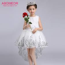 monsoon kids 2017 high low dresses for wedding and party children sequin