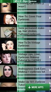 How To Shape Eyebrow How To Shape Eyebrows For Android Download