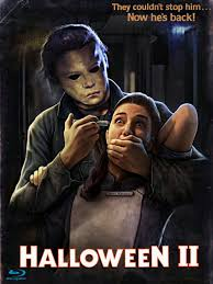 halloween 2 horror movie slasher poster horror pinterest