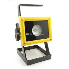 10w rechargeable flood light waterproof 10w portable cordless cree t6 led floodlight ip65