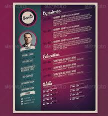 Illustrator Resume Templates Top 27 Best Free Resume Templates Psd U0026 Ai 2017 Colorlib