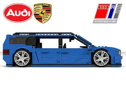 lego porsche minifig scale lego ideas audi rs2 avant