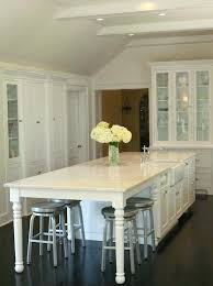 white kitchen islands with seating kitchen island with end seating appealing kitchen island with bar