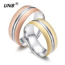 love rings design images Titanium wedding ring high quality rose gold color love rings for jpg