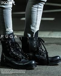 lace up motorcycle boots fuga rakuten global market men mode system lock laceup combat