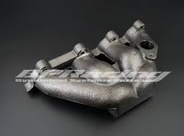 2000 honda civic exhaust manifold cast iron turbo exhaust manifold for 1996 2000 honda civic ek6 ek9
