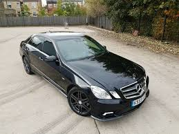 2010 mercedes e class e220 blueefficiency amg sport manual fully