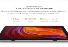 chuwi hi10 plus 10 8 u201d tablet pc windows 10 android 5 1 intel 4g