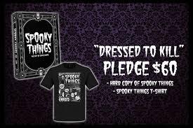 spooky things by chris raimo u2014 kickstarter
