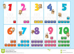 momo number chart royalty free stock images image 15566369