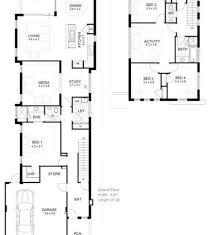 Narrow Block House Plans Block Plans Narrow Plans Narrow House - Narrow block home designs